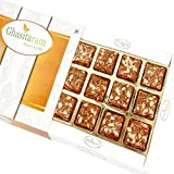 #10: Ghasitaram Gifts Valentine Gifts Valentine Sweets - Sugarfree Healthy Energy Cereal/ Seeds Khajoor Bites