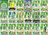SPFL MATCH ATTAX 2018/19 – Komplettes 18-karätiges Keltisches Team Set inkl. Karte Man of The Match
