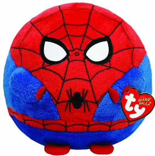 Marvel Ty UK 8-inch Spiderman Beanie Ballz