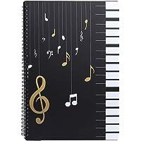 Cartellina per spartiti formato A4 30 tasche in plastica, per musicisti e musicisti