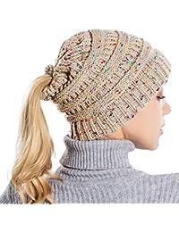 Sencillo Vida Gorro de Punto Invierno Turbantes Mujer Cinta para El Pelo  Accesorio para Cabeza Beanie 16da6323837