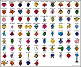 MR MEN AND LITTLE MISS – Characters – Wall Poster Print - 30CM X 43CM Brand New Roger Hargreaves