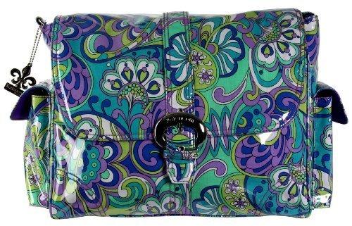 kalencom-laminated-buckle-changing-bag-russian-floral-blue-by-kalencom