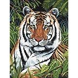 Royal und Langnickel PJS75 Malen nach Zahlen - Tiger im Versteck