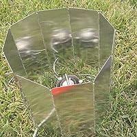 Lastre di alluminio pieghevole Campeggio Barbecue stufa scudo di vento