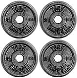 York Standard-Hantelscheibe Gusseisen (4 x 5 kg)