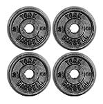 York Fitness X4 - Disco de hierro for...