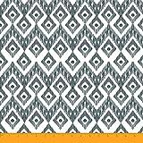 Soimoi Ikat-Druck 42 Zoll breit Viscose Chiffon- Gewebe-55