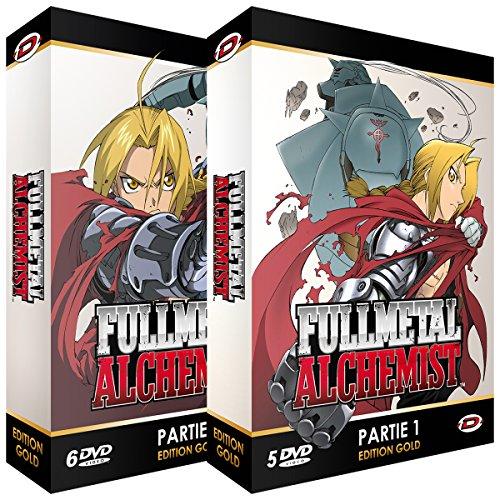 Fullmetal Alchemist - Intégrale - Edition Gold - 2 Coffrets (11 DVD + Livrets)