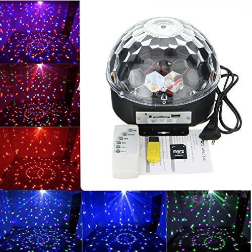 king-do-way-kit-de-boule-de-disco-lumiere-de-scene-led-mp3-bluetooth-sd-usb-ports-avec-telecommande-