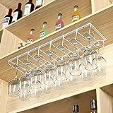 A-Fort Rack Holder Weinglasregal, Regal Weinglashalter, Weinglasregal, Weinglasregal, Champagnerglasregal, Glasregal (Farbe : Weiß, größe : 70 * 20 * 7cm)
