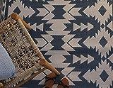 Fab Hab - Miramar - Grau - Teppich/ Matte für den Innen- und Außenbereich (90 cm x 150 cm)