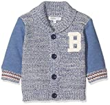 Noppies Baby-Jungen Strickjacke B Cardigan Knit Galax, Blau (Medium Blue C145), 68