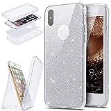 Coque iPhone X,Étui iPhone X,iPhone X Case,ikasus Intégral 360 Degres avant +...