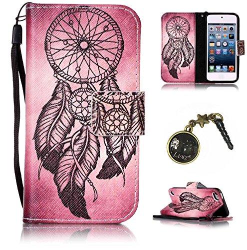 PU Silikon Schutzhülle Handyhülle Painted pc case cover hülle Handy-Fall-Haut Shell Abdeckungen für Apple iPod Touch 5 / Touch 6+Staubstecker (1OO) (Ipod 5 Blau Silikon Fällen)