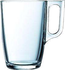 Luminarc Nuevo Glass Mugs Set