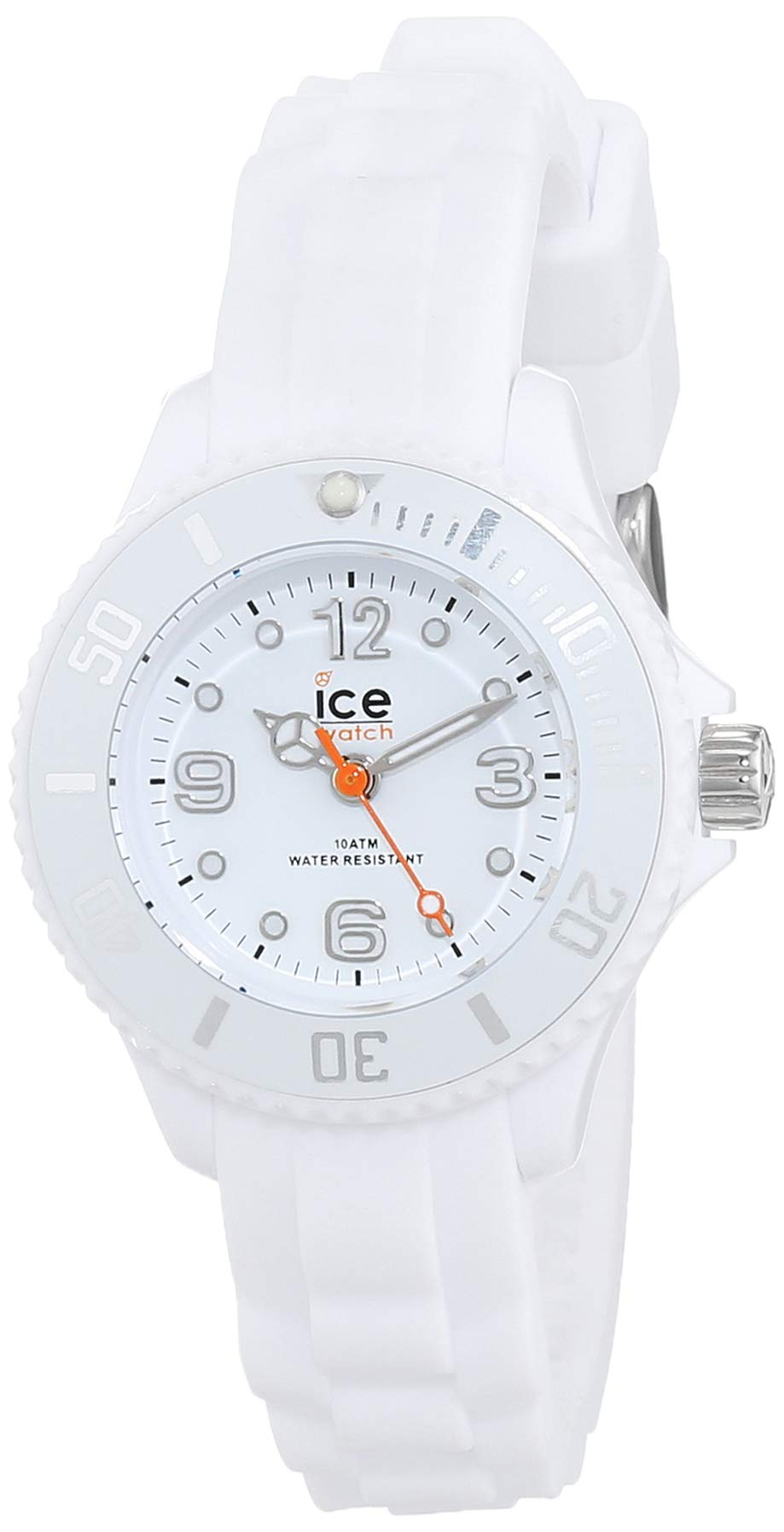 Ice-Watch - ICE forever White - Weiße Herrenuhr mit Silikonarmband 10