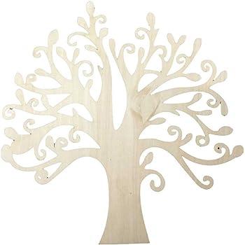 pixnor 10st holzbaum form craft blank weihnachten. Black Bedroom Furniture Sets. Home Design Ideas