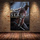 mmzki Samurai Ölgemälde HD Leinwand Leinwand Malerei Kunst Poster dekorative Malerei