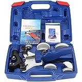 4YANG Conjunto de doblador de tubos Kit manual de herramientas para doblar tubos Dobladora de tubos de cobre con caja de tran