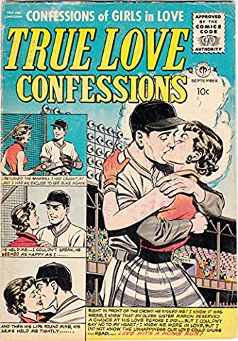 POSTER comics cover Small Publishers Premier Magazines True Love Confessions 9 Vintage Wall Art Print A3 replica