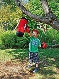 Eduplay Kinder Boxset rot / schwarz inklusive Handschuhe