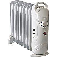 Elektrische Heizung 1000W Ölradiator Heizgerät mit Frostwächter Thermosteuerung Konvektor Heizer Radiator Elektroheizung…