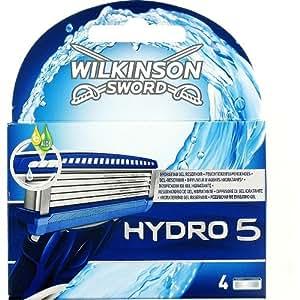 Wilkinson - Hydro 5 - Lames de rasoir pour Homme - Pack de 4