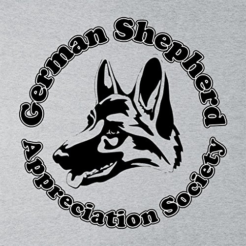 German Shepherd Appreciation Society Women's Sweatshirt Heather Grey