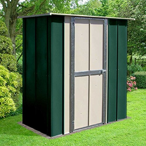 Canberra 5x3 hot dipped galvanised steel garden utility for Garden shed 5x3