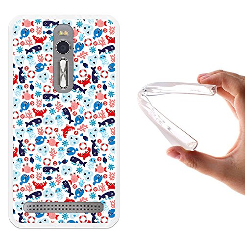 WoowCase - Custodia Cover Silicone Flessibile in Gel per [ Asus...