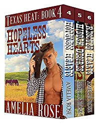 Texas Heat Box Set - Books 4-6 (Contemporary Cowboy Romance)