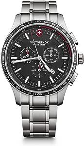 Victorinox Uomo Alliance Sport - Orologio cronografo in acciaio inossidabile fabbricato in Svizzera 241816