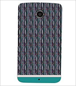 PrintDhaba Pattern D-1753 Back Case Cover for MOTOROLA GOOGLE NEXUS 6 (Multi-Coloured)