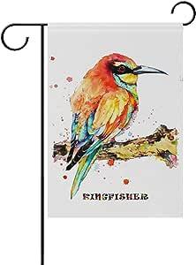 Chic Houses 2030861 Schmetterling Aquarell Gemälde Garten Flagge Vertikal Doppelseitig Schöne Tierblätter Ästhetik Für Kinder Ostern Frühling Sommer Willkommen Hofdeko 30 5 X 45 7 Cm 12x18 In 2030864 Garten