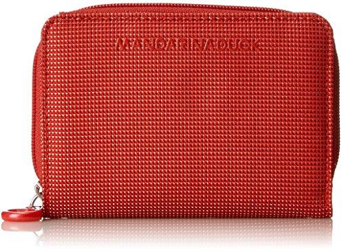 Scarlet Damen Schuhe (Mandarina Duck Damen Md20 Portafoglio Geldbörse, Rot (Flame Scarlet), 10x21x28.5 cm)
