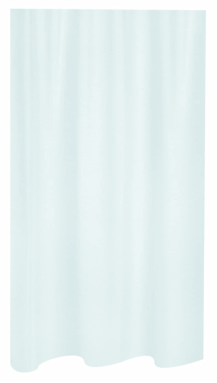 Spirella Maya WHITE TEXTILE Polyester Large SHOWER CURTAIN 240 x 200 EXTRA WIDE