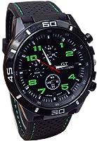 LuckUK Men's Sport Watches,Man Boy Sport Quartz Watch Military Watches Men Silicone Band Hours Wristwatch
