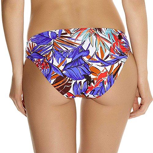 Bikini Hose Patchouli mit Blumen-Muster (Hose) Multicolor