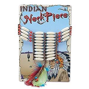 Indian Beaded Necklace (accesorio de disfraz)