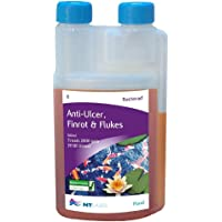 NT Labs Pond Aid Bacterad Anti-Ulcer, Fin-Rot & Flukes 1ltr 1200g