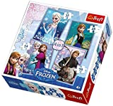 Puzzles - 4in1 Frozen