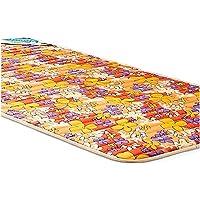 Nilkamal Printed Cotton Fabric Foam Mattress (Multicolour, Single Size/72 x 36 Inch)