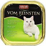 Animonda vom Feinsten für kastrierte Katzen Pute pur, 32er Pack (32 x 100 g)