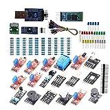 DSD TECH ALL-IN-1 Sensor Modul Kit mit HC-05 Bluetooth und CP2102 USB zu TTL Seriell Adapter für Arduino und Raspberry Pi