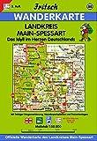 Fritsch Karten, Nr.88, Main-Spessart (Fritsch Wanderkarten 1:50000, Band 88)