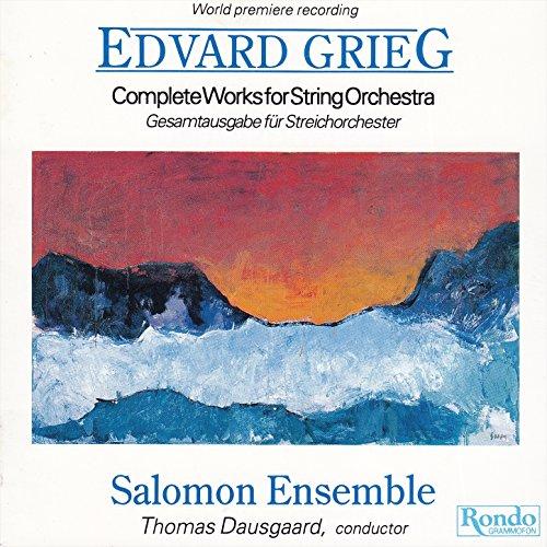 Edvard Grieg - Complete Works for String Orchestra - Gesamtausgabe für Streichorchester