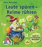 Laute spüren - Reime rühren - Spiele zur phonologischen Bewusstheit (Inkl - CD-Rom) - Maria Monschein