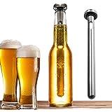 Merrday Bebidas de acero inoxidable Enfriador de cerveza Palo Botella de bebida Varilla Palillos de enfriamiento portátiles i