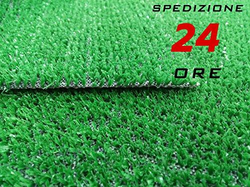 Prato Sintetico Verde Erba Finta Manto Erbetta Finta 1x5 mt - Fercolorbisceglie